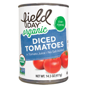 Field Day Organic Diced Tomatoes is my favorite brand.
