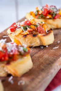 Farr Better Easy Bruschetta Recipe