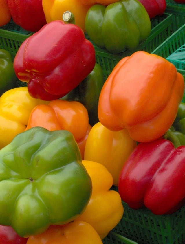 Bell peppers are a fruit, have lots of nutrition and health benefits. That's why Farr better Recipes® uses them.