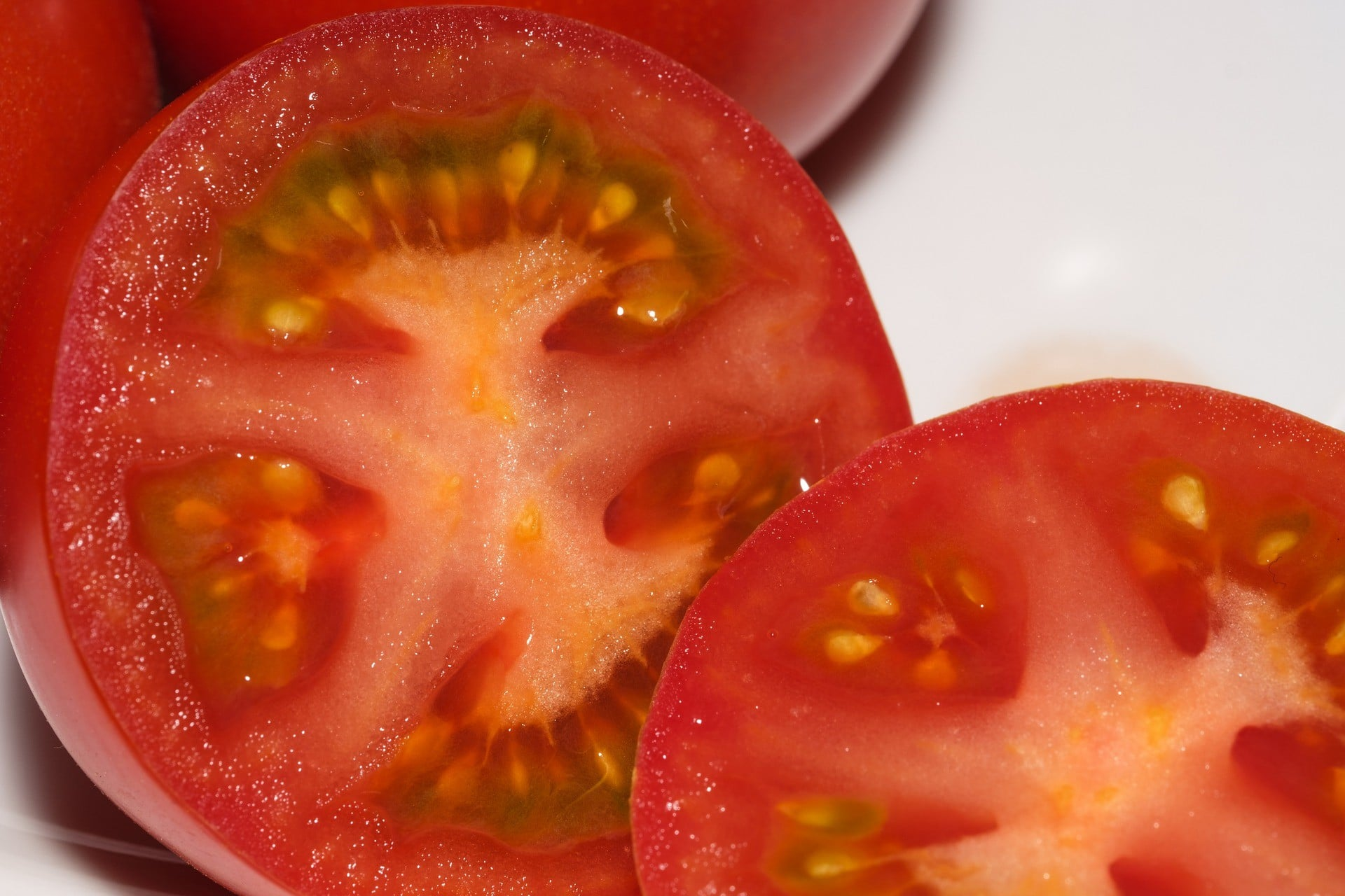 Tomatoes are considered a fruit because it contains seeds.