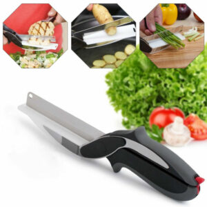 Click here to purchase a Food Chopper Scissors to slice celery for the Farr Better Creamy Mushroom Stroganoff