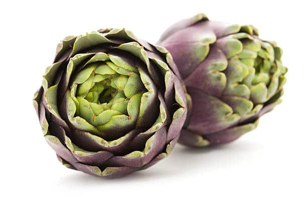 Artichokes are not considered a part of the nightshade family.