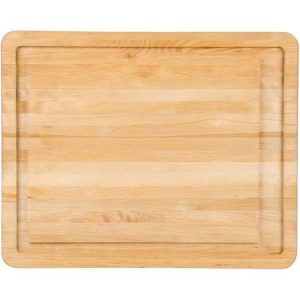 I have this beautiful wood cutting board and it works well for cutting tomatoes and you can purchase them from Farr Better Recipes®
