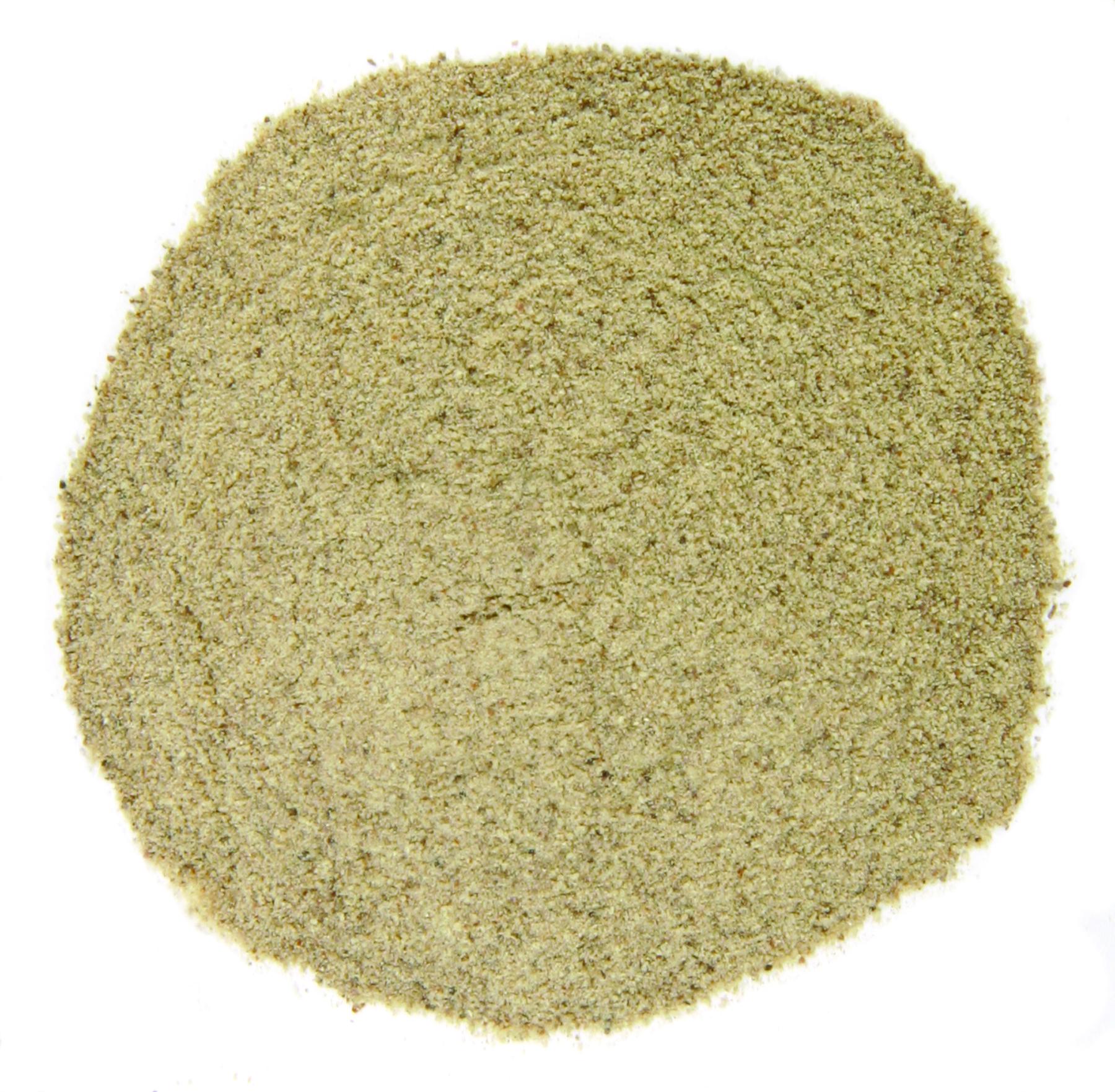 Farr Better Vegan Cream of Mushroom Soup has ground white pepper as an ingredient in Farr Better Recipes®
