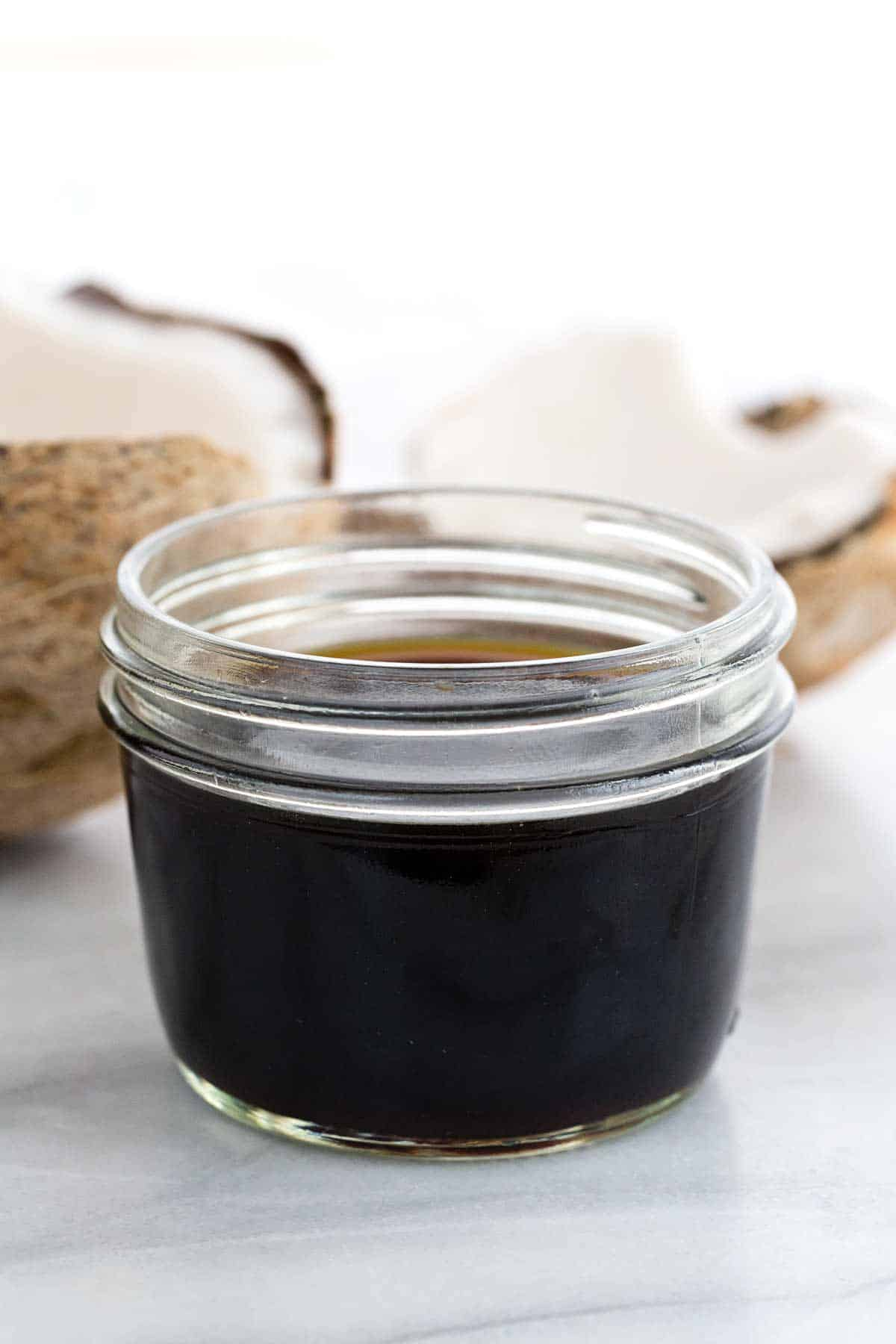 Farr Better Creamy Mushroom Stroganoff has coconut aminos as an ingredient in Farr Better Recipes®
