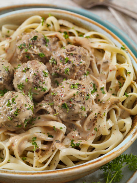 Most certainly, don't forget the meatless meatballs and the Farr Better Vegan Cream of Mushroom Soup on top of pasta.