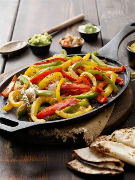 Bell peppers make every Fajita amazing!